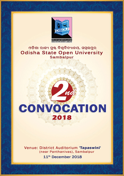 Invitation Card 2nd Convocation