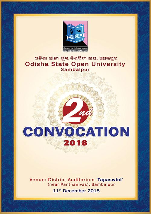 Invitation Card 2nd Convocation