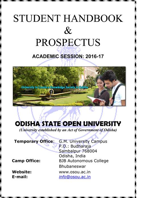 Prospectus 2016-17