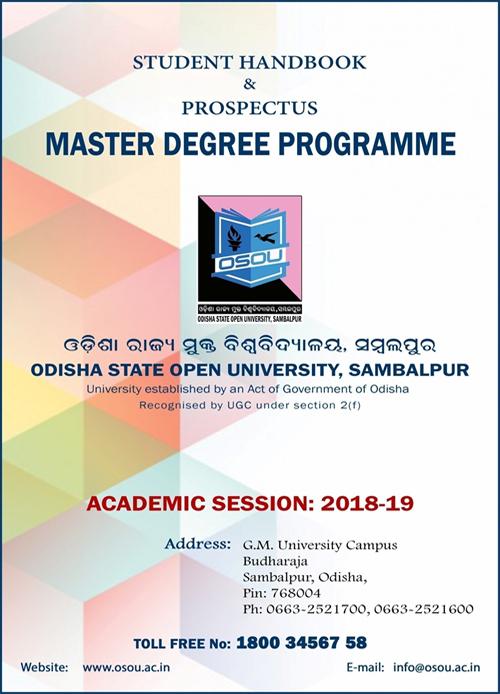 Prospectus Masters Prog 2018-19