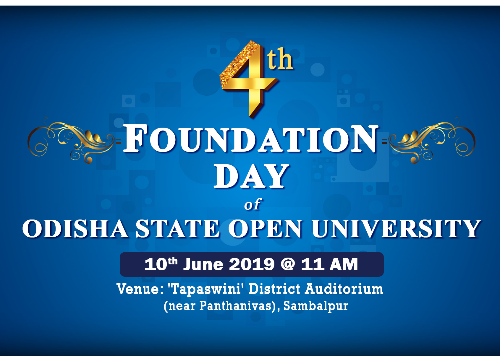 4th Foundation Day 2019