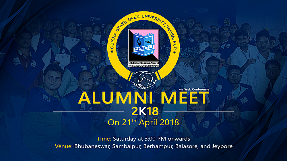 ALUMNI MEET 2K18 via Web Conference